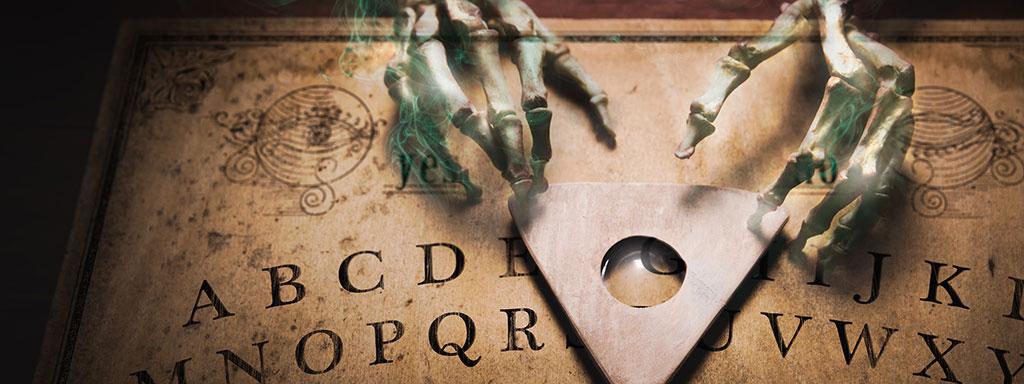 Ouija-Brett Gefahren